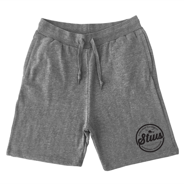 Runnin' Circles Sweat Shorts (Gray)