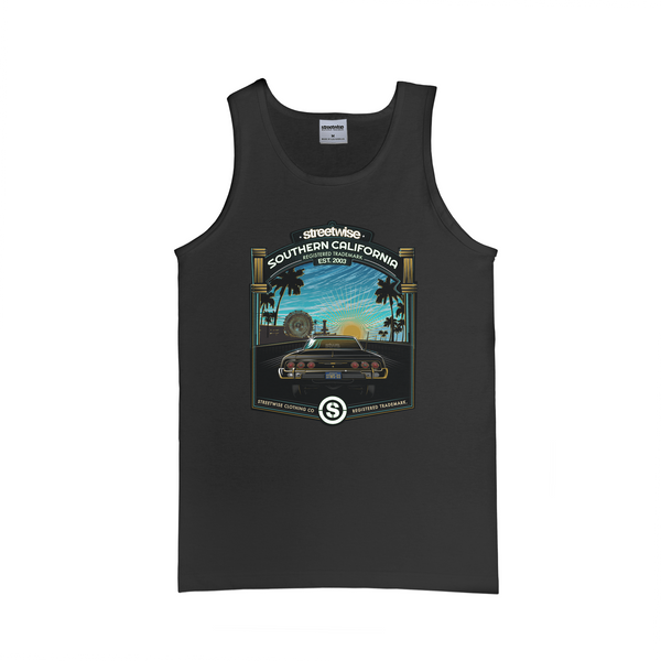 Santa Monica Tank Top (Black)