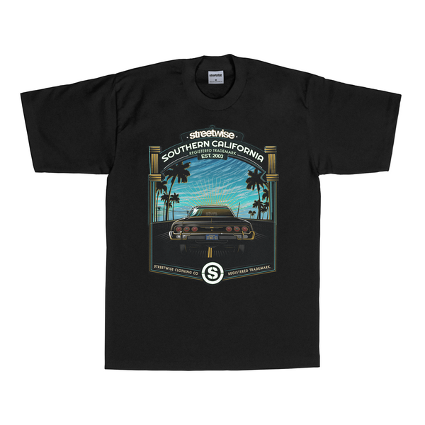 Santa Monica T-Shirt (Black)