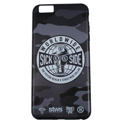 Sick Side iPhone 6/6S Plus Phone Case (Camo) | Psycho Realm Collab | Streetwise Clothing