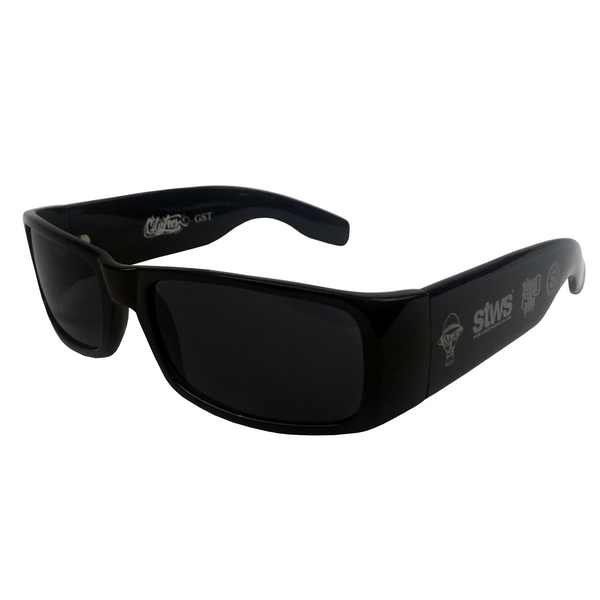 Sick Side Sunglasses (Black) | Psycho Realm Collab | Streetwise Clothing