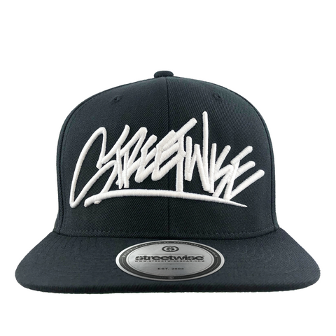 Skeam Tags Snapback (Black)