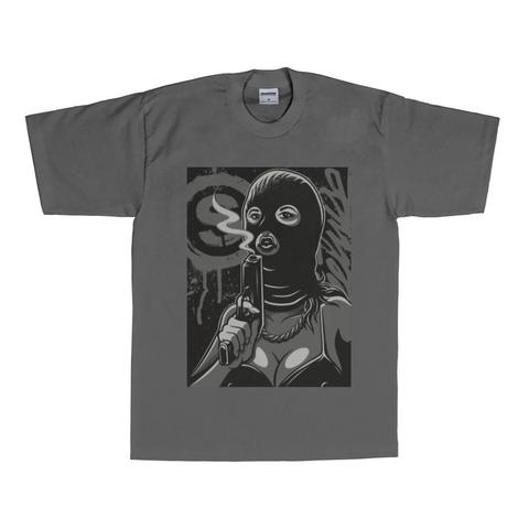 Ski Mask Way T-Shirt (Charcoal)