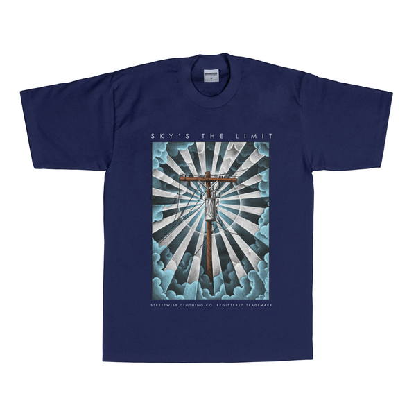 Sky's the Limit T-Shirt (Navy)