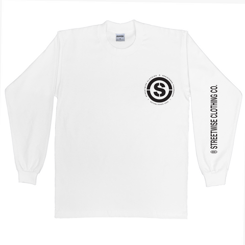 Sniper Shot Long Sleeve (White)