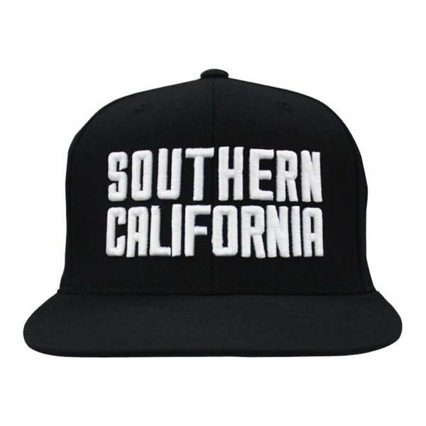 Southern California Snapback (Black) | Classics | Streetwise Clothing
