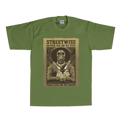 Stand Up T-Shirt (Olive)