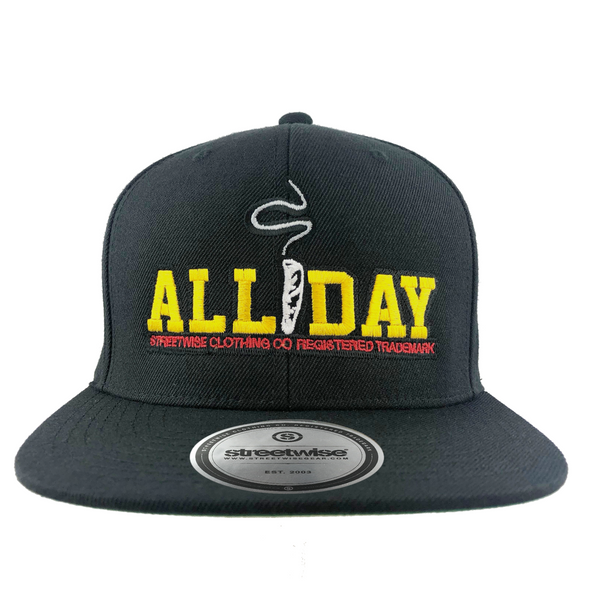 Stay Smokin Snapback (Black)