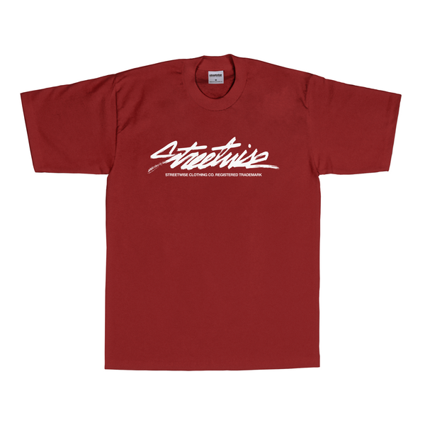 The Flow T-Shirt (Burgundy)