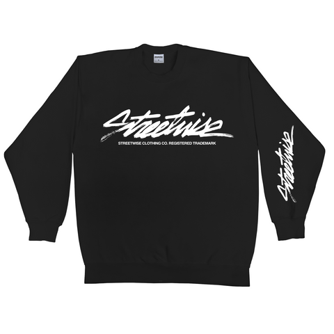 The Flow Crewneck (Black)