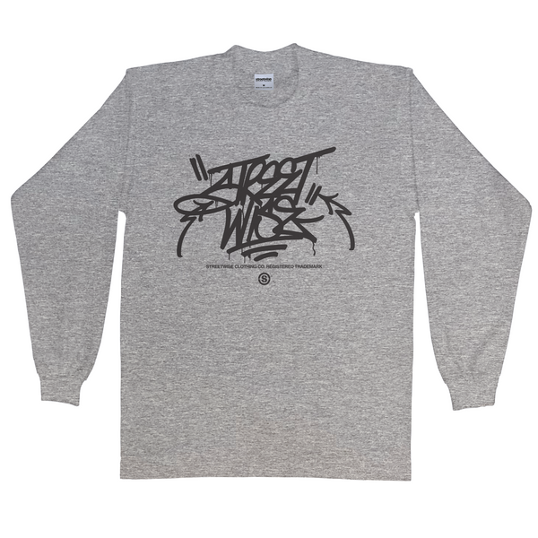 The Hit Up Long Sleeve (Gray)