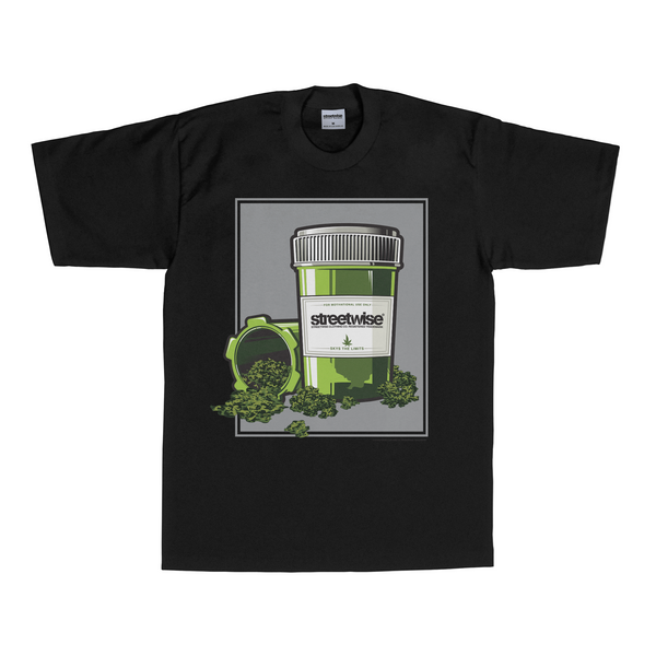 Top Shelf T-Shirt (Black) | Classics | Streetwise Clothing