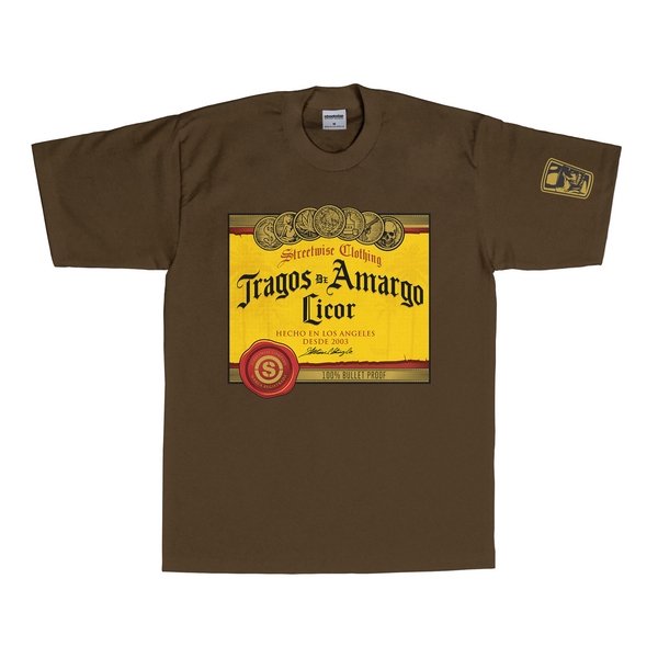 Tragos Amargos T-Shirt (Brown)
