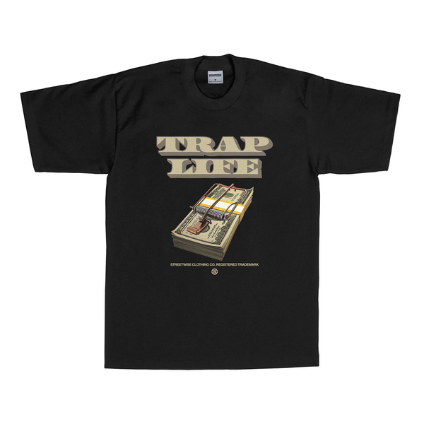 Trap Life T-Shirt (Black)