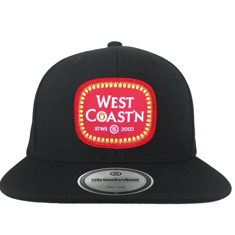 West Coastin' Snapback (Black)
