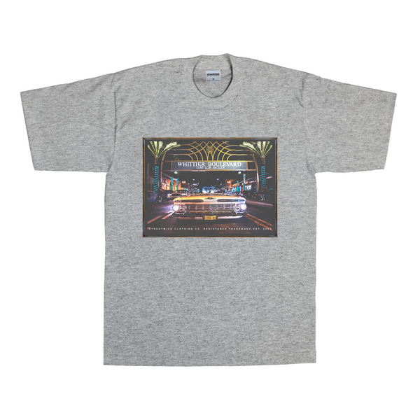 Whittier Blvd T-Shirt (Gray)