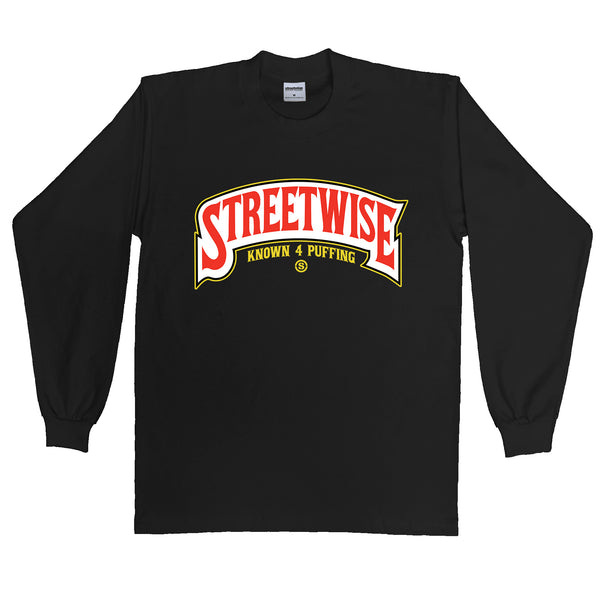 Wrapt Long Sleeve (Black)