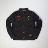Ethik Enemies Denim Jacket Black Denim