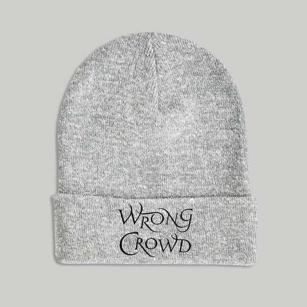 Wrong Crowd Grey Beanie