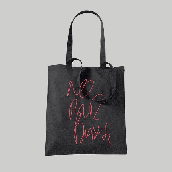 No Bad Days Black Tote Bag