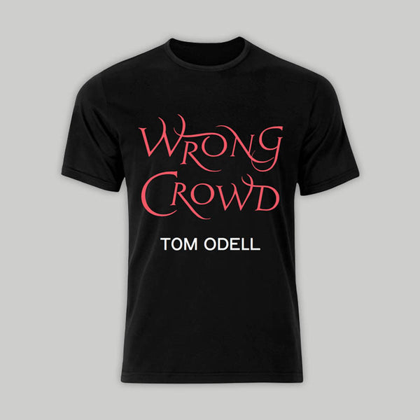 Wrong Crowd Black T-Shirt