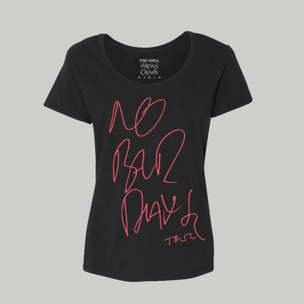 No Bad Days 2017 Girls Tour T-Shirt
