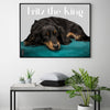Framed Poster For Dog Lovers