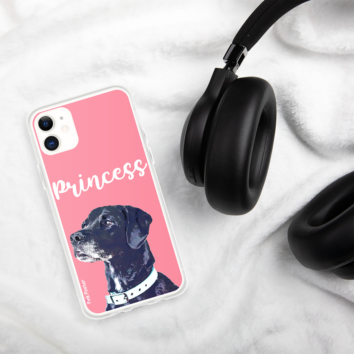 Custom phone case with dog art IPhone 11