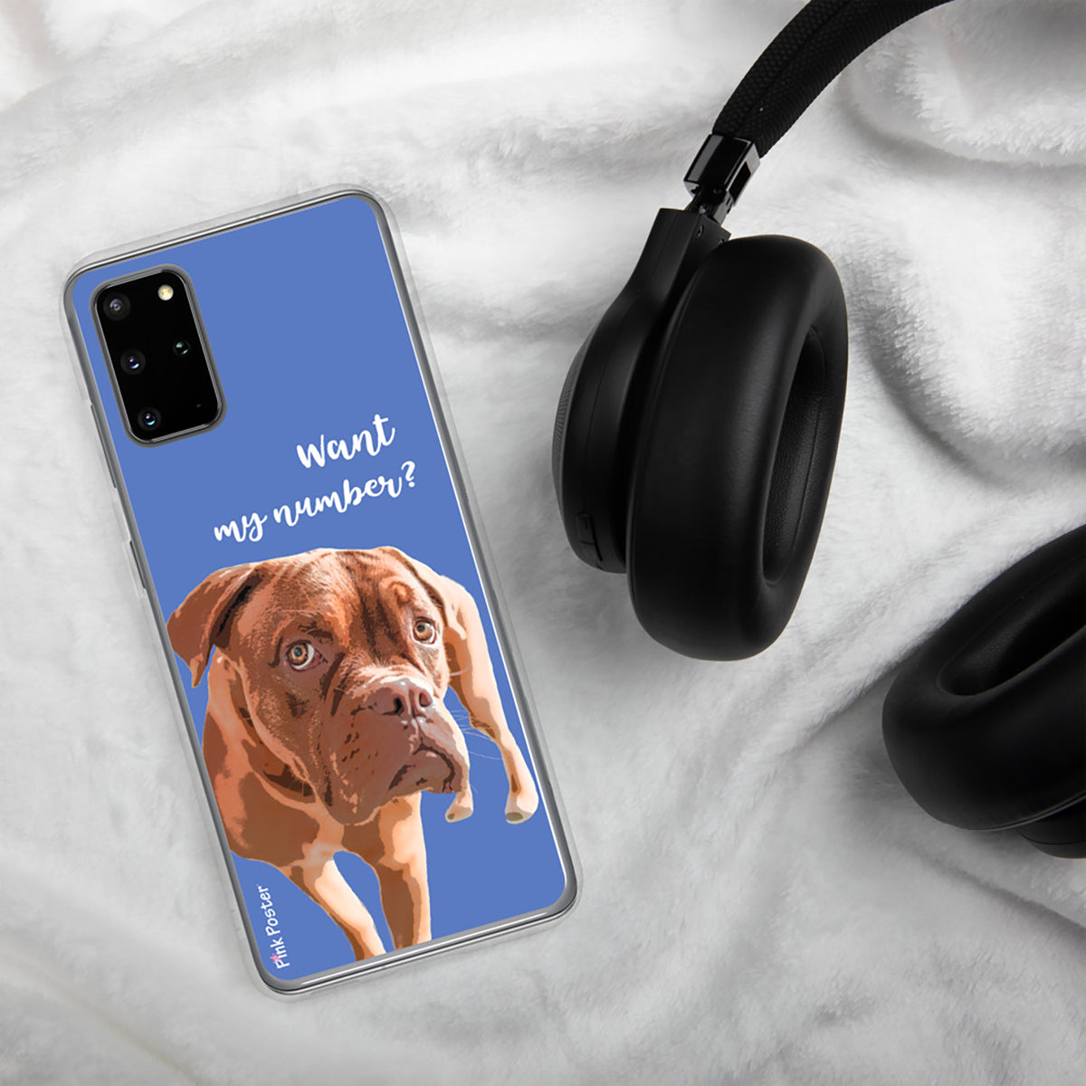 Custom Phone case with dog art Galaxy S20 Plus
