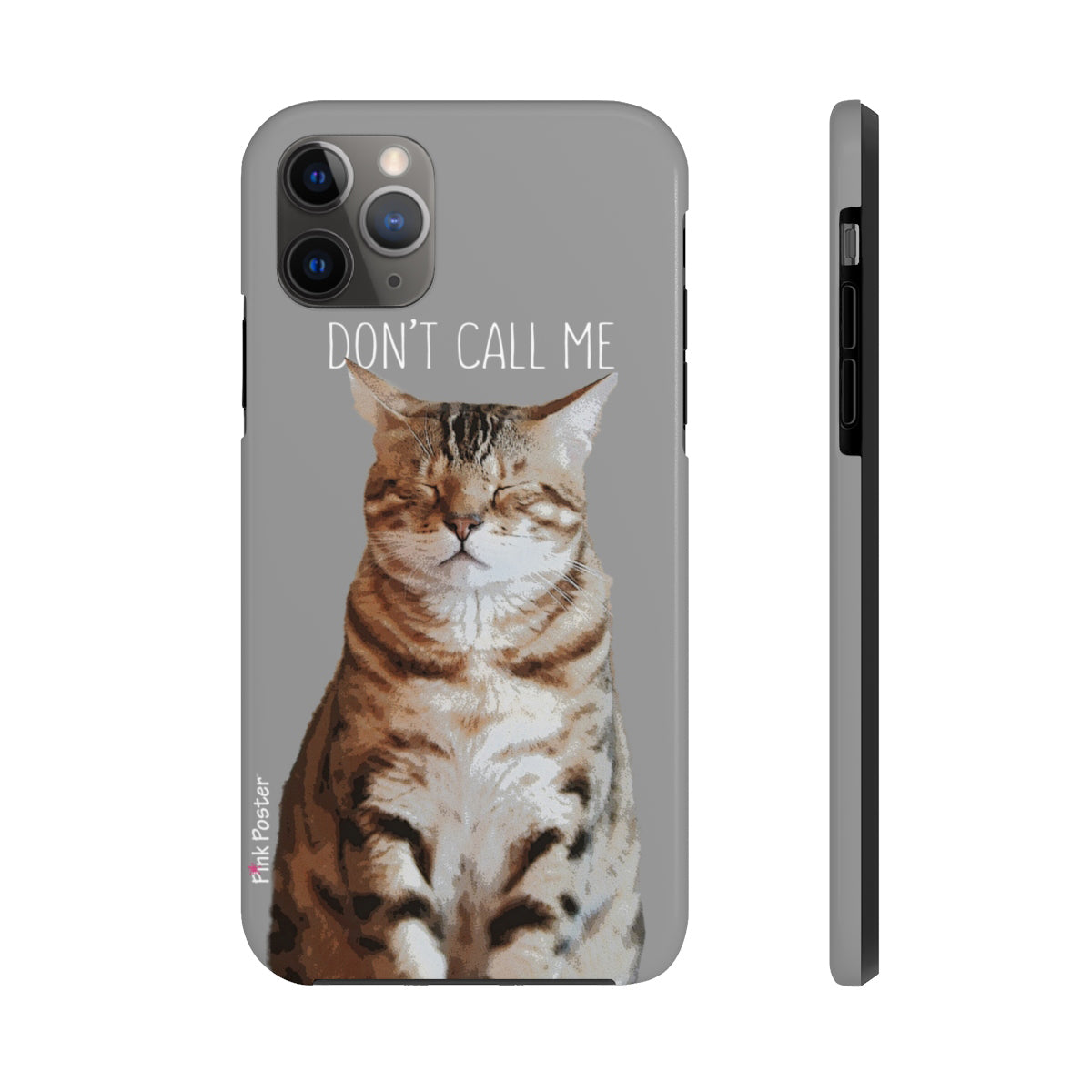 custom cat art on phone case