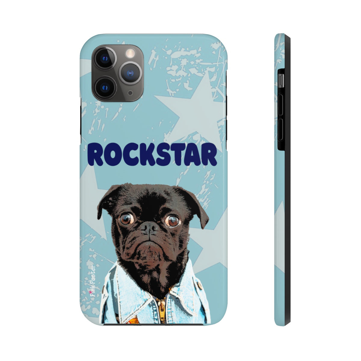 Custom phone case with pet art