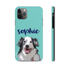 phone case with custom dog art