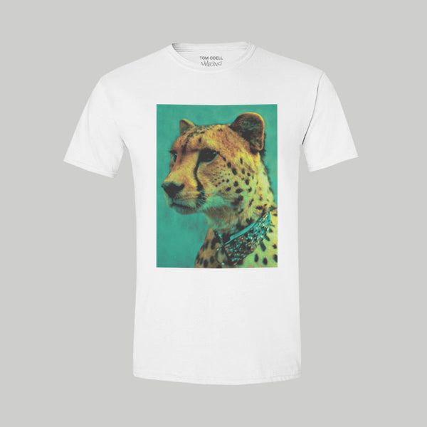 Cheetah White T-Shirt