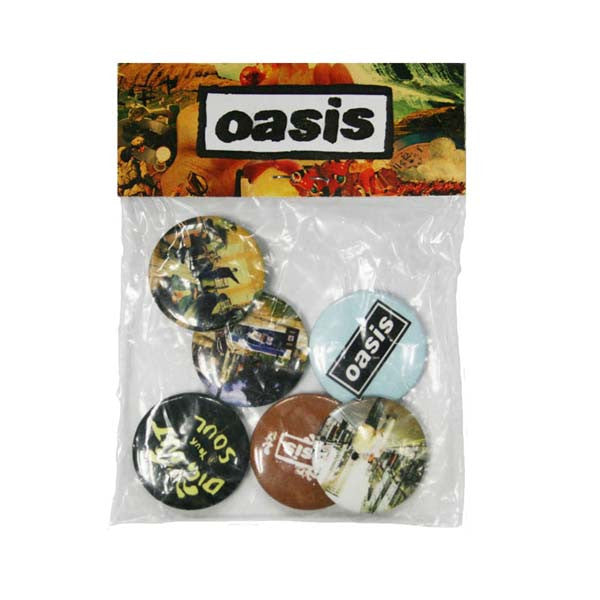Oasis Badge Set
