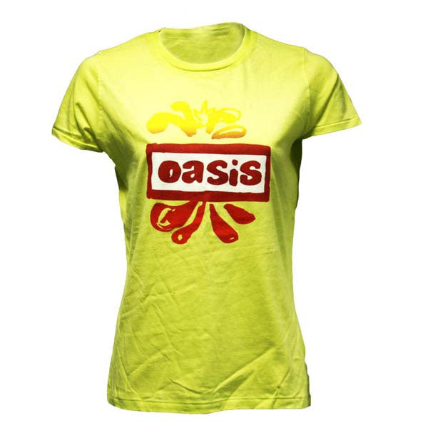 Oasis 2008 Autumn Tour Ladies T-shirt