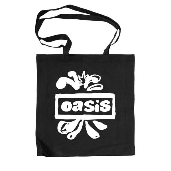 Black Splat Logo Tote Bag