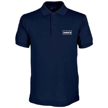 NAVY BLUE LOGO POLO SHIRT