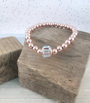 Crystal Bracelet - Rose