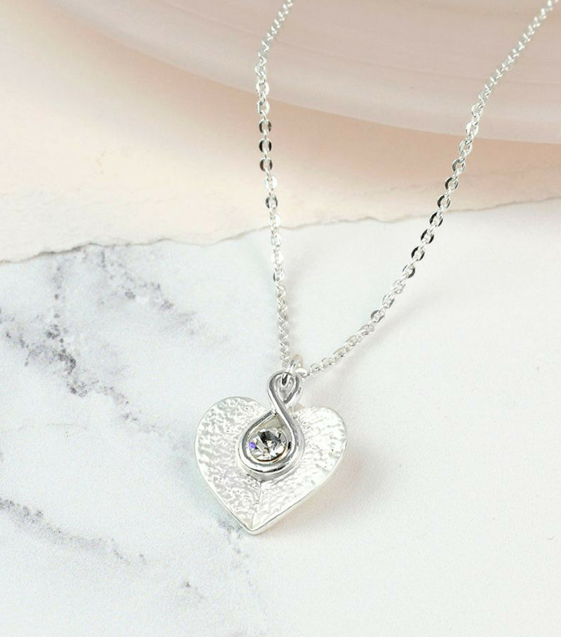 Heart Twist Necklace