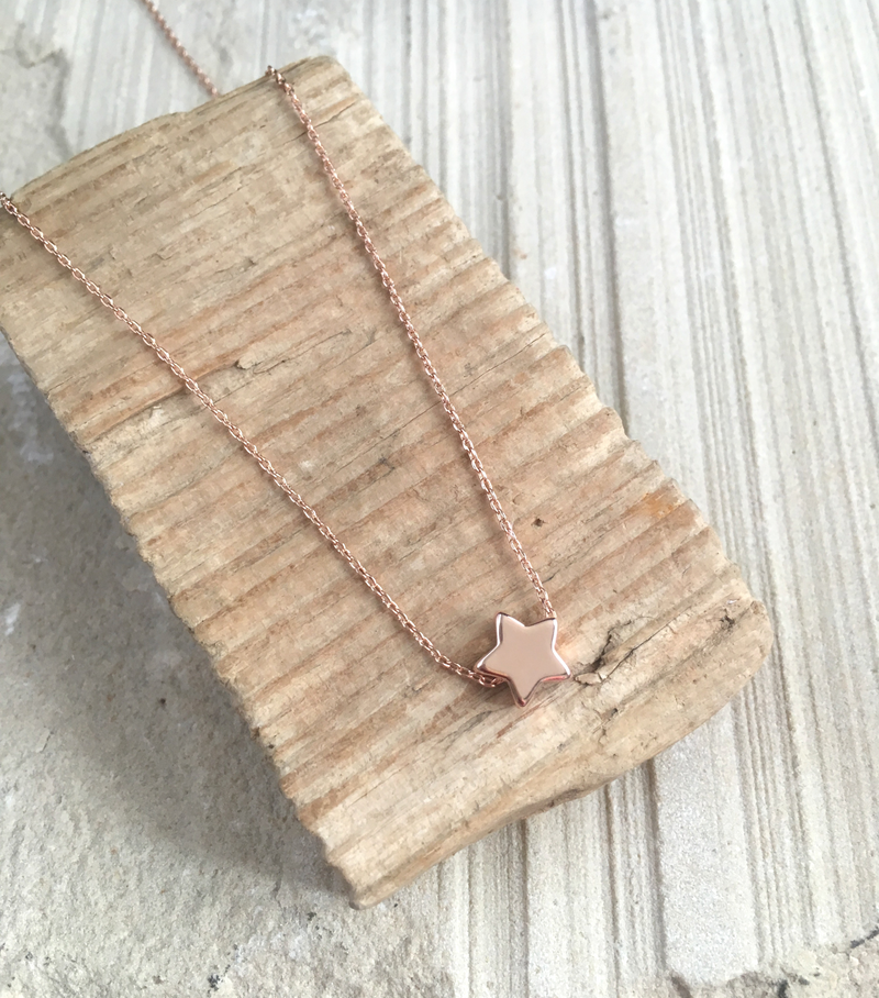 Little Star Pendant - Rose Gold