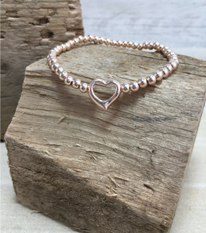 Dainty Heart - Rose