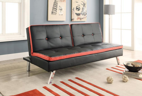 Tufted Back and Seat Sofa Bed