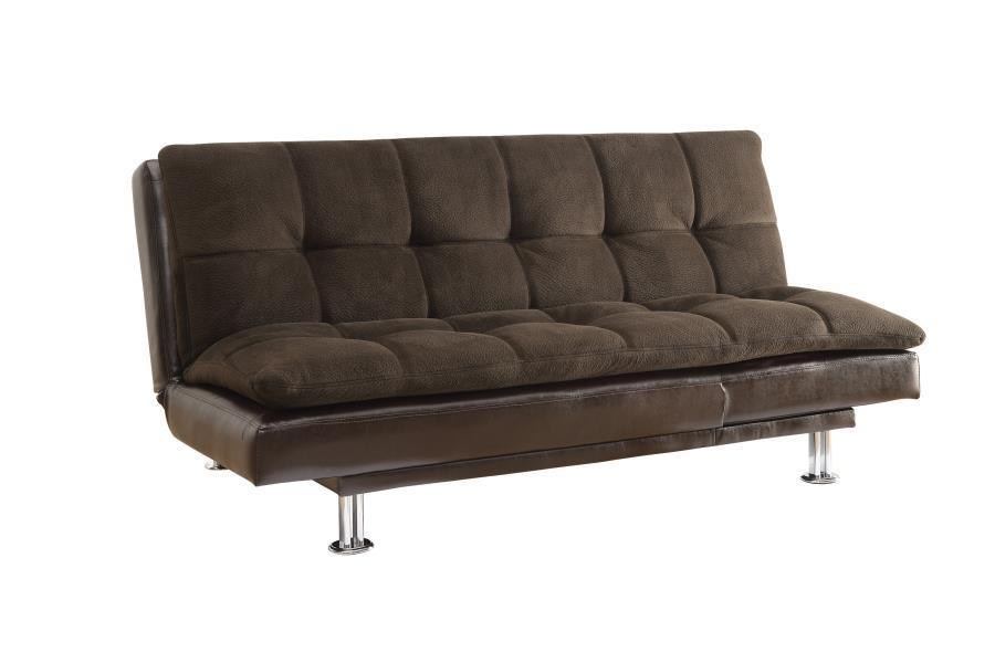 Textured padded Sofa bed