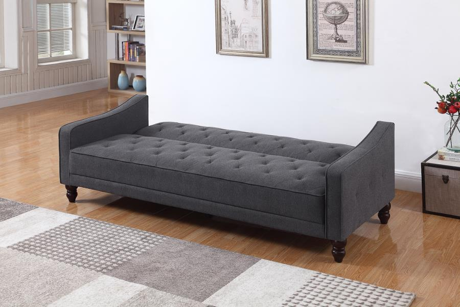 Solid hardwood legs Sofa bed