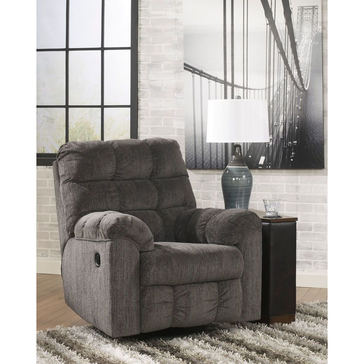 Acieona Swivel Rocker Recliner