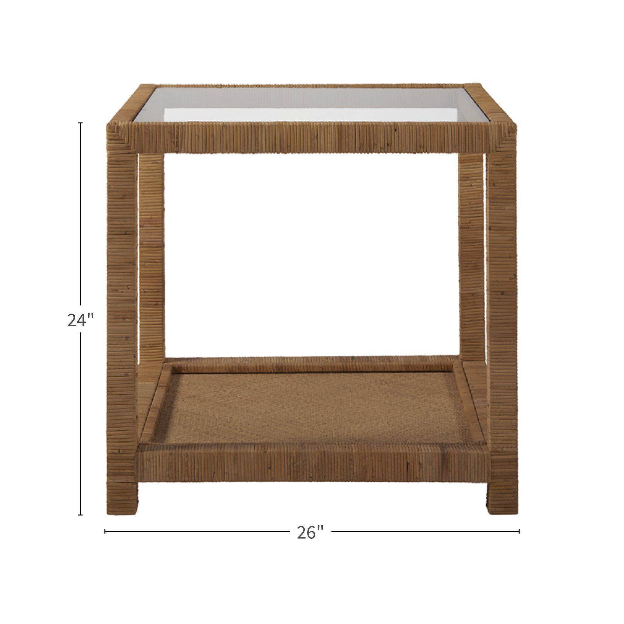 Coastal Living Escape Long Key End Table