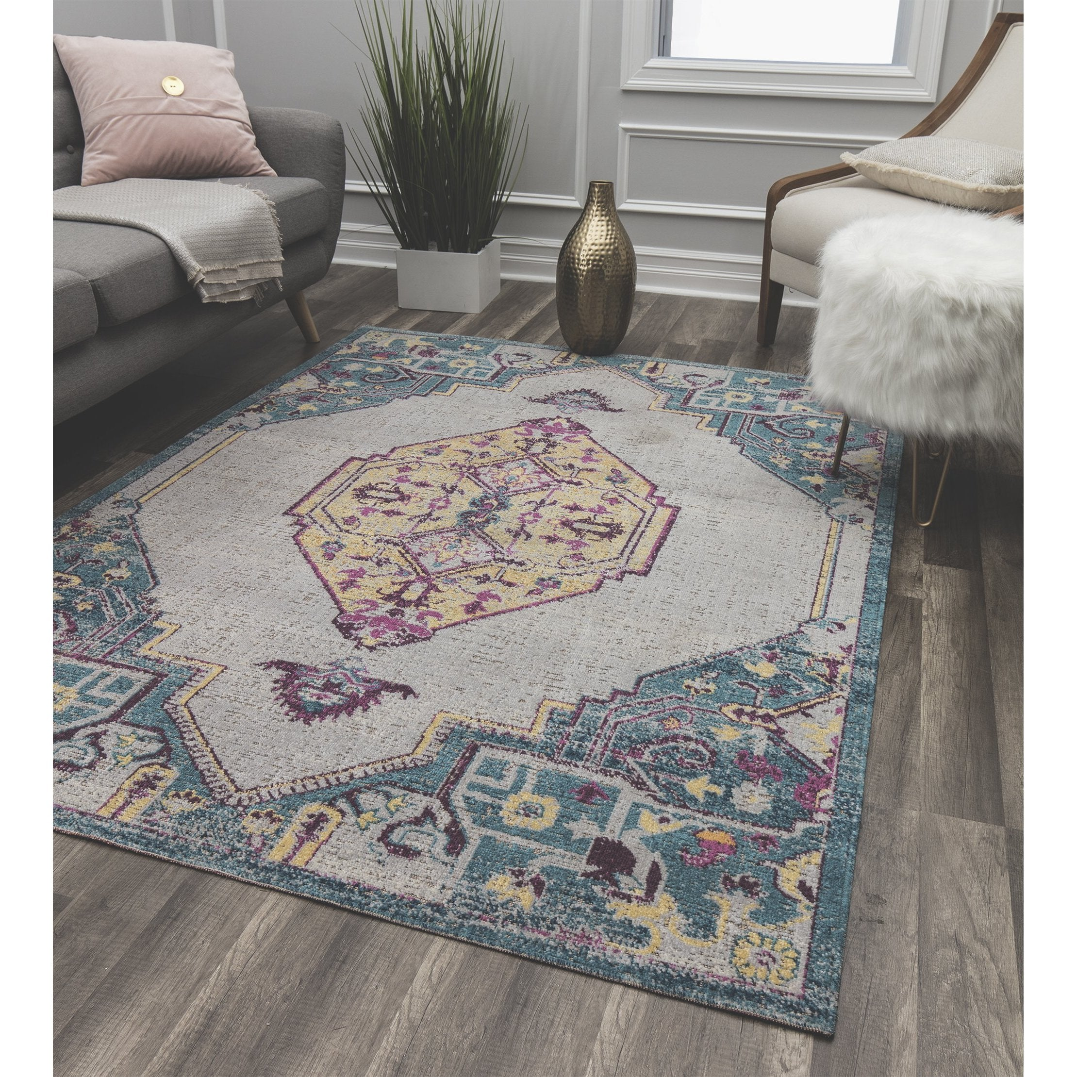 Bend Ivory Transitional Rug