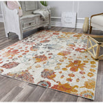 Bend Transitional Rust & Beige Rug