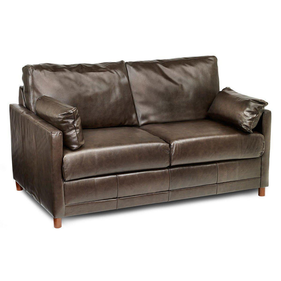 Softee Leather Full Sleeper Sofa