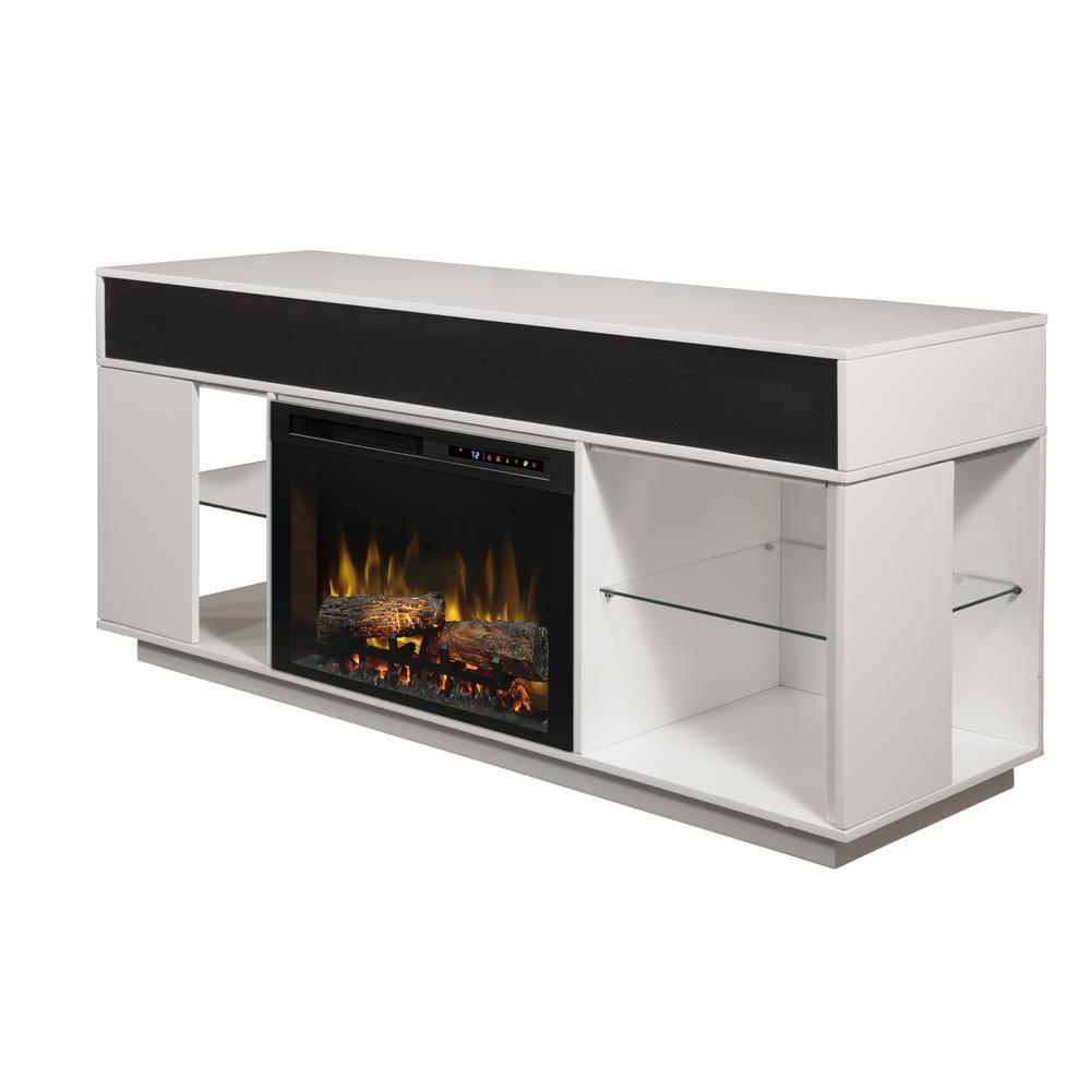 Audio Flex Lex Electric TV Stand with Firebox